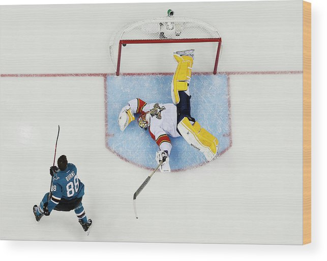 Event Wood Print featuring the photograph 2015 Honda Nhl All-star Skills by Kirk Irwin