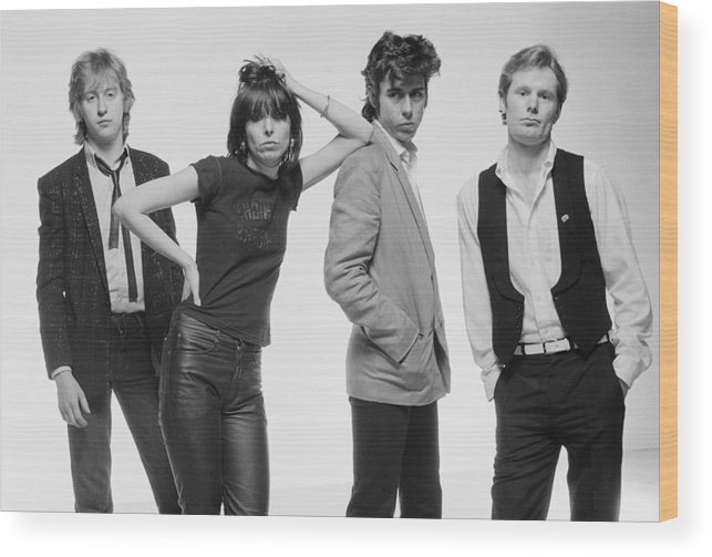 People Wood Print featuring the photograph The Pretenders by Fin Costello