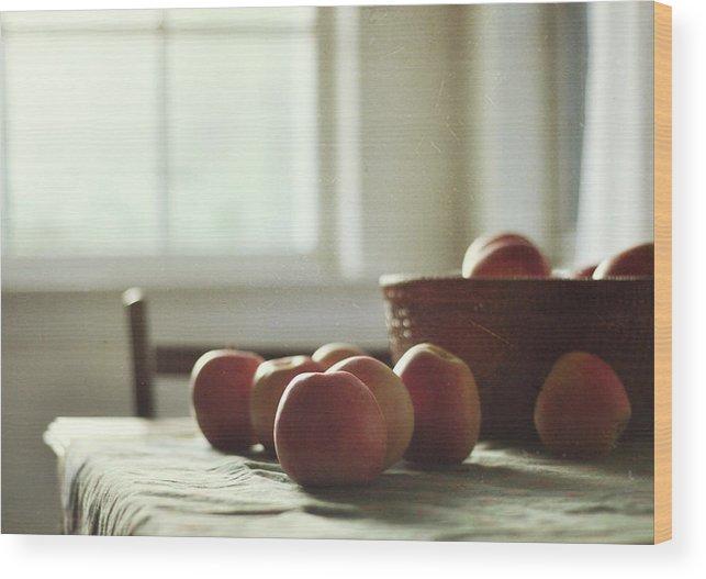 North Carolina Wood Print featuring the photograph Array by Dawn D. Hanna