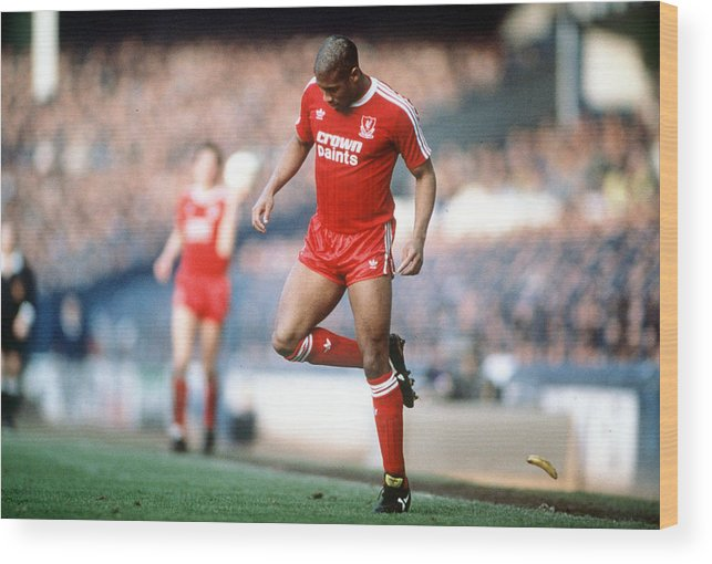 1980-1989 Wood Print featuring the photograph Football. 21st February 1988. Fa Cup by Bob Thomas