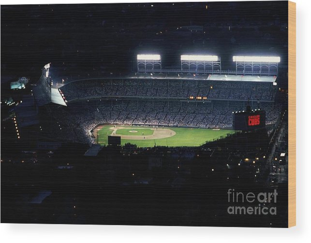 1980-1989 Wood Print featuring the photograph General View by Jonathan Daniel