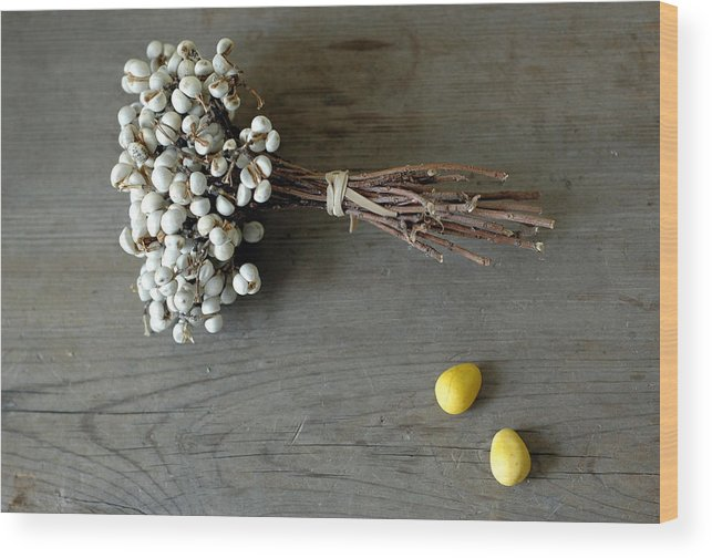 Easter Wood Print featuring the photograph Happy Easter by Jennifer Causey