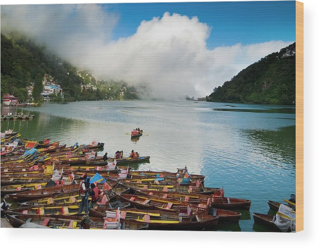 Outdoors Wood Print featuring the photograph Nainital, Uttrakhand, India by Jitendra Singh Is A New Delhi / Shimla Based Photojournalist