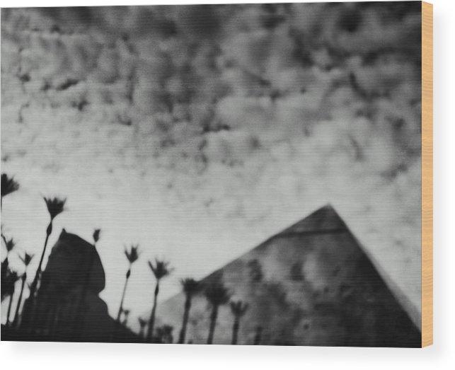 Hotel Wood Print featuring the photograph Usa,nevada,las Vegas,luxor Hotel by Seth Joel
