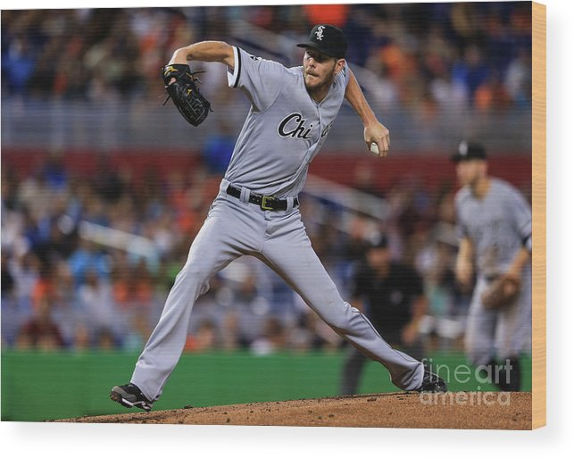 People Wood Print featuring the photograph Chris Sale by Rob Foldy
