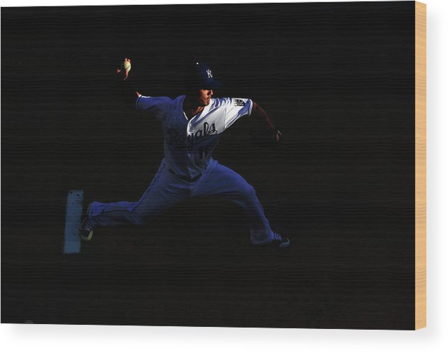 People Wood Print featuring the photograph Jeremy Guthrie by Jamie Squire
