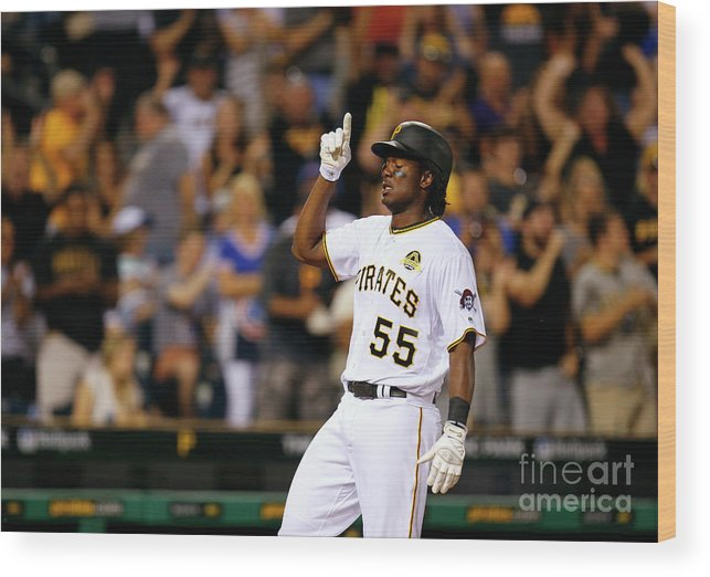 Three Quarter Length Wood Print featuring the photograph Josh Bell by Justin K. Aller