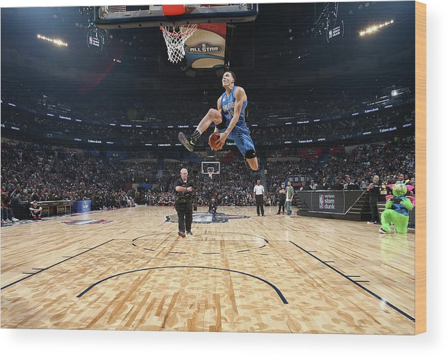 Event Wood Print featuring the photograph Aaron Gordon by Nathaniel S. Butler