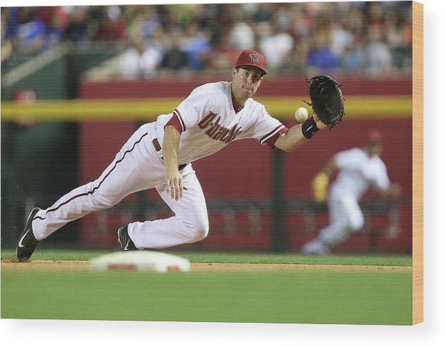 Catching Wood Print featuring the photograph Paul Goldschmidt by Christian Petersen