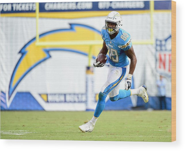 Ladarius Green Wood Print featuring the photograph Oakland Raiders v San Diego Chargers by Harry How