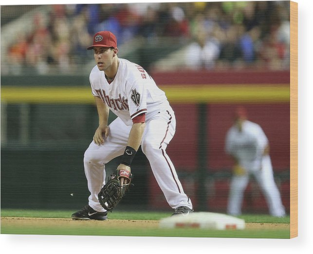Motion Wood Print featuring the photograph Paul Goldschmidt by Christian Petersen