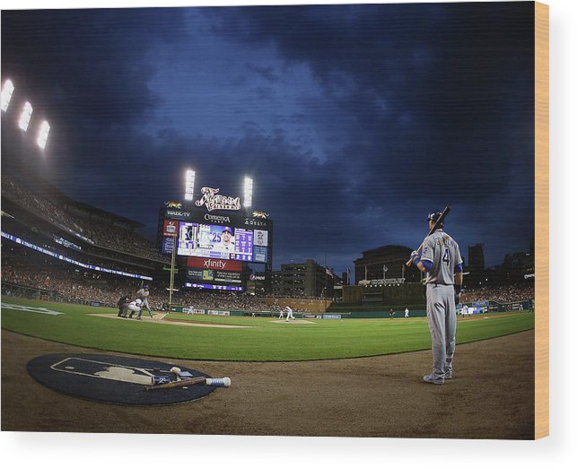 People Wood Print featuring the photograph Alex Gordon by Gregory Shamus