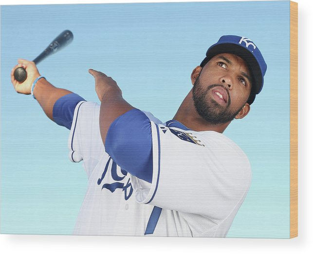 Media Day Wood Print featuring the photograph Carlos Peguero by Christian Petersen