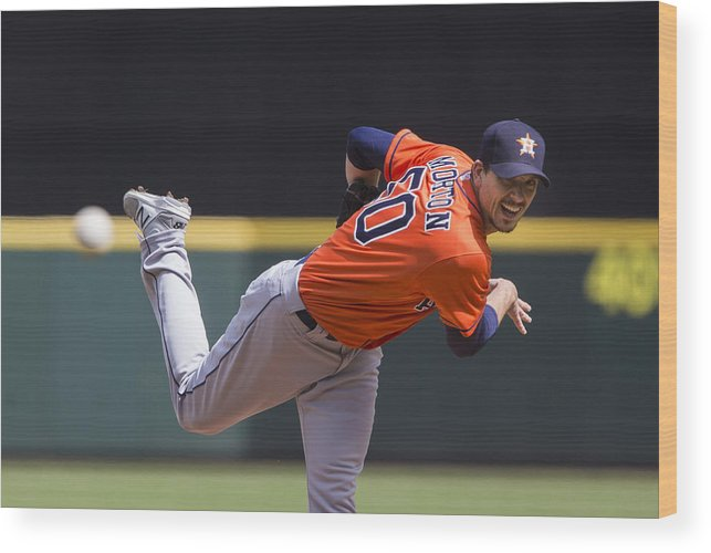 People Wood Print featuring the photograph Charlie Morton by Lindsey Wasson