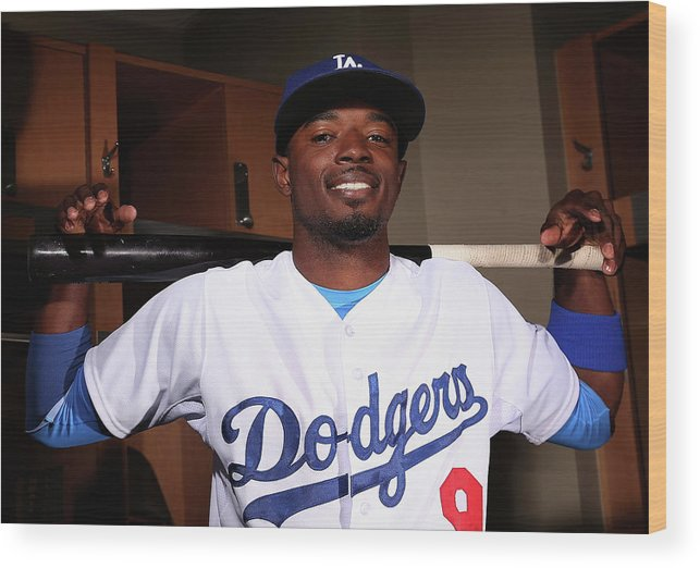 Media Day Wood Print featuring the photograph Dee Gordon by Christian Petersen