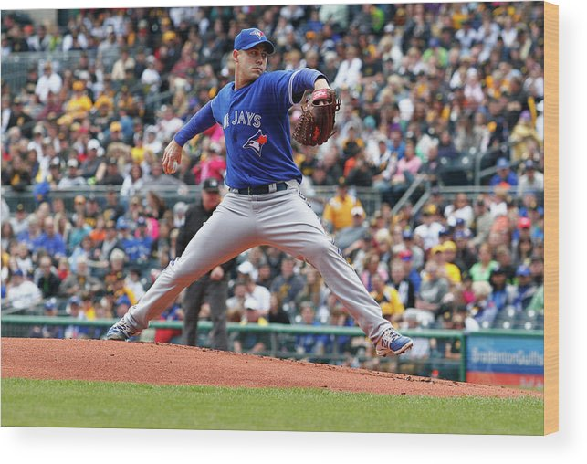 Professional Sport Wood Print featuring the photograph Dustin Mcgowan by Justin K. Aller
