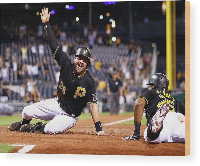 People Wood Print featuring the photograph Francisco Cervelli by Jared Wickerham