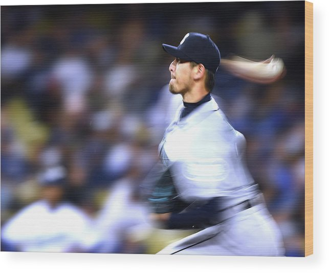 Hisashi Iwakuma Wood Print featuring the photograph Hisashi Iwakuma by Harry How