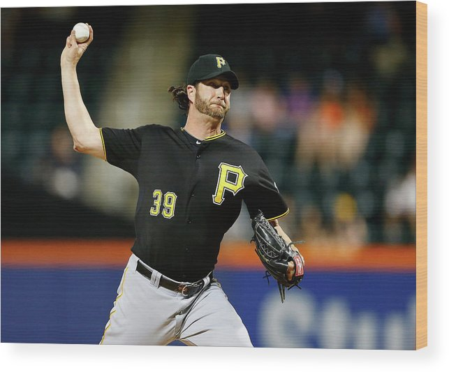 Ninth Inning Wood Print featuring the photograph Jason Grilli by Jim Mcisaac
