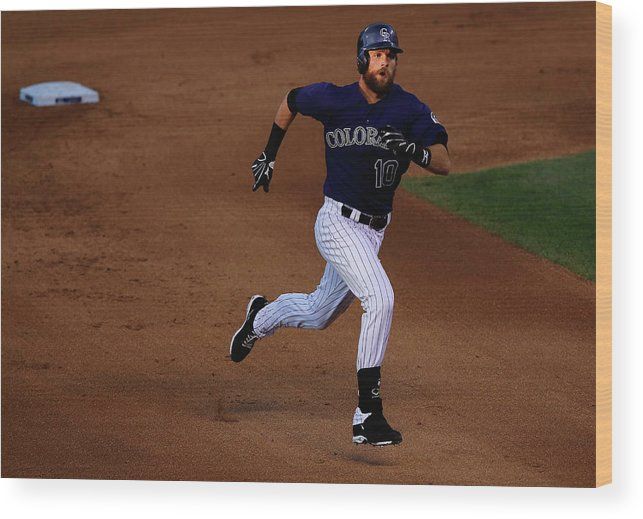 People Wood Print featuring the photograph John Lackey by Doug Pensinger