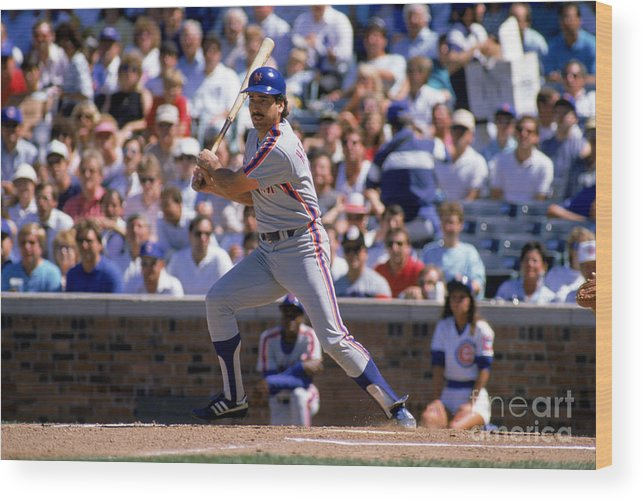 1980-1989 Wood Print featuring the photograph Keith Hernandez by Jonathan Daniel