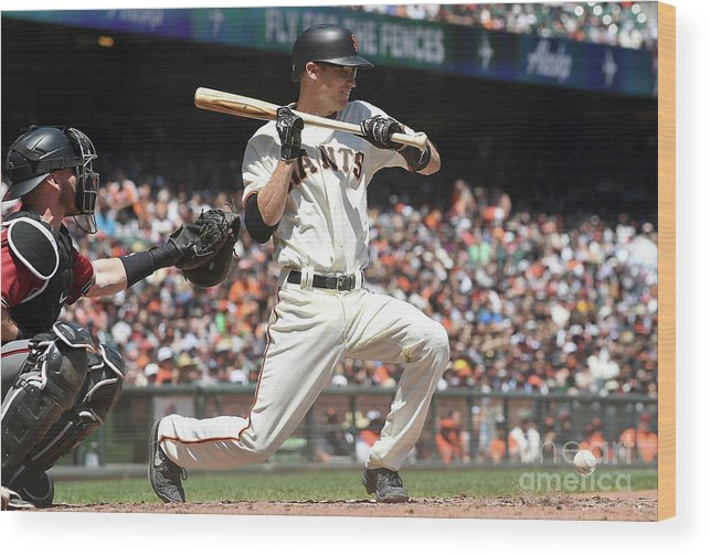 San Francisco Wood Print featuring the photograph Kelby Tomlinson by Thearon W. Henderson
