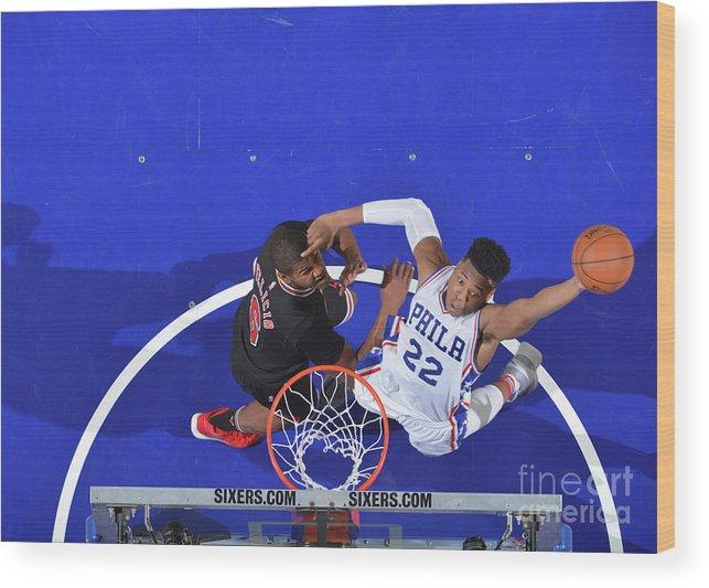 Nba Pro Basketball Wood Print featuring the photograph Richaun Holmes by Jesse D. Garrabrant