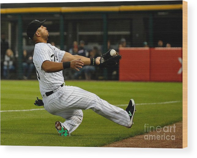 People Wood Print featuring the photograph Robinson Chirinos by Jon Durr