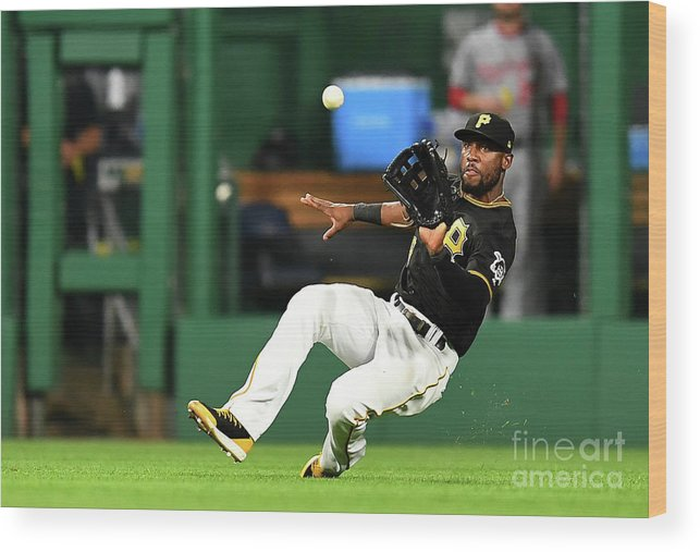 People Wood Print featuring the photograph Starling Marte and Anthony Rendon by Joe Sargent
