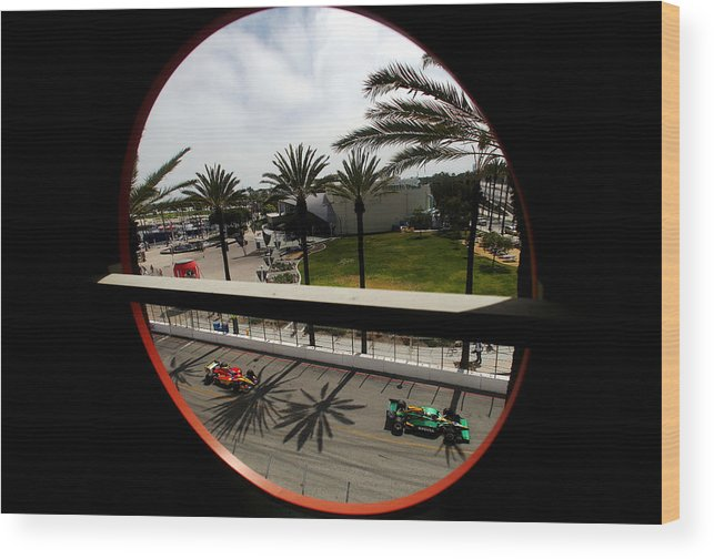 California Wood Print featuring the photograph Toyota Grand Prix of Long Beach - Day 3 by Donald Miralle
