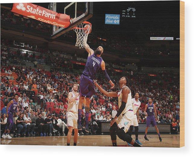 Nba Pro Basketball Wood Print featuring the photograph Tyson Chandler by Issac Baldizon