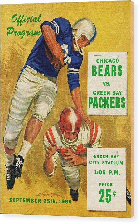 Green Bay Packers Vintage Program 2 by Joe Hamilton