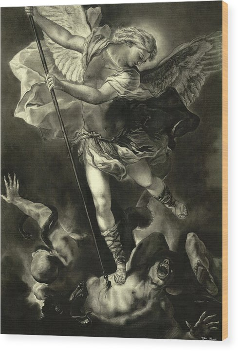 St. Michael Vanquishing the Devil by Tyler Anderson
