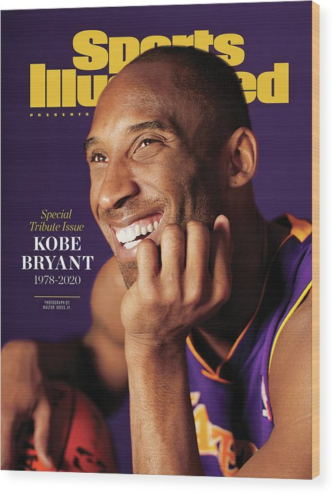Event Wood Print featuring the photograph Kobe Bryant 1978 - 2020 Special Tribute Issue Sports Illustrated Cover by Sports Illustrated