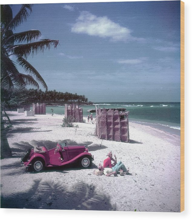 Montego Bay Wood Print featuring the photograph John Rawlings by Slim Aarons