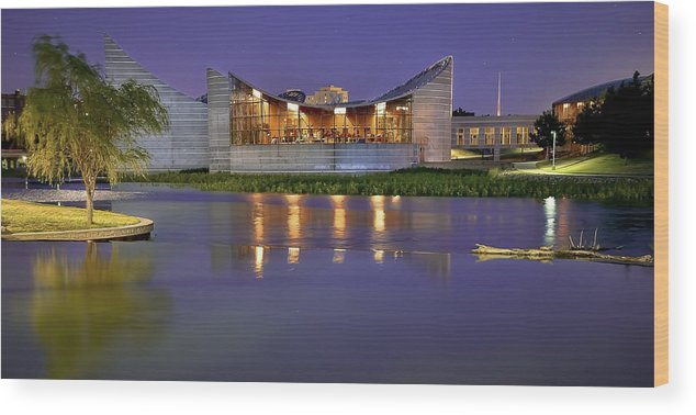 Architecture Wood Print featuring the photograph Architecture by Garett Gabriel
