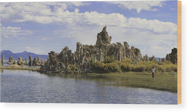 Mono Lake Wood Print featuring the photograph Mono Lake by Richard Balison