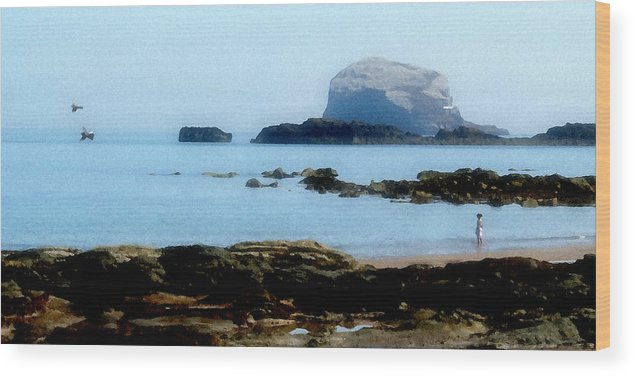 Tide Wood Print featuring the photograph Ebb Tide by Lyle Huisken