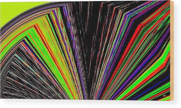 Fandango Wood Print featuring the digital art Fandango by Will Borden