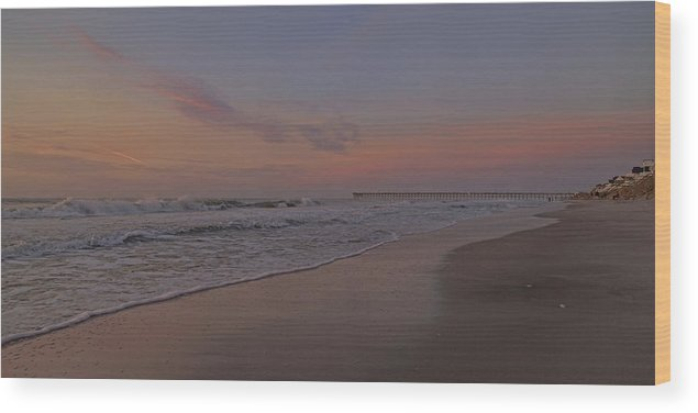 Beach Wood Print featuring the photograph Quit Your Day Job Just For You by Betsy Knapp