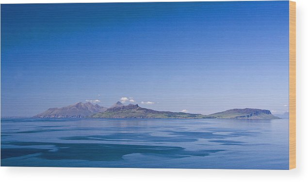 Scotland Wood Print featuring the photograph The Sea Of The Hebrides by John McKinlay