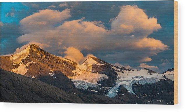 Lynx Mountain Wood Print featuring the photograph Lynx Mountain by Ian Stotesbury
