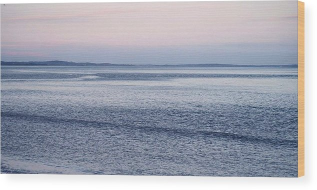 Water Wood Print featuring the photograph Irish Coast by Susan Grissom