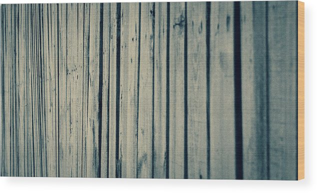 Fence Wood Print featuring the photograph Fenced In by Keith Kadwell