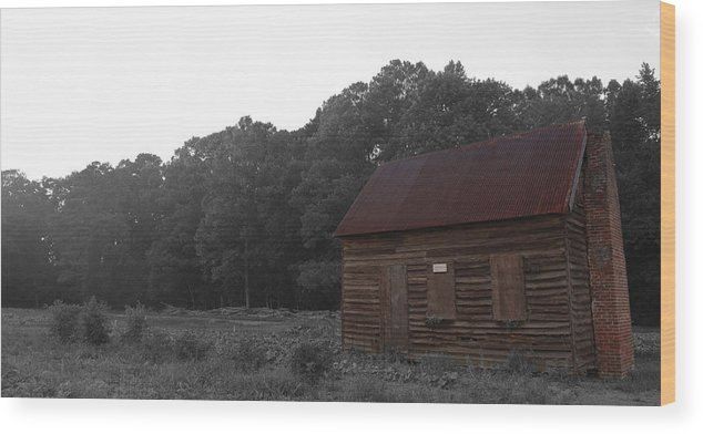 Homestead Wood Print featuring the photograph Homestead by Travis Aston