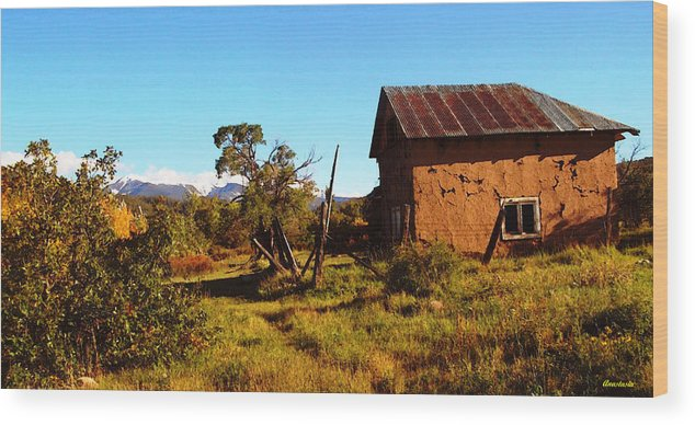 Wood Print featuring the photograph Where Ester's Childhood Lingers by Anastasia Savage Ealy
