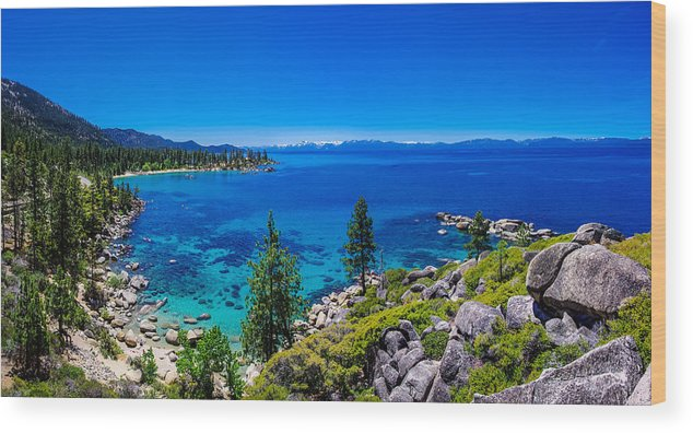 America Wood Print featuring the photograph Lake Tahoe Summerscape by Scott McGuire