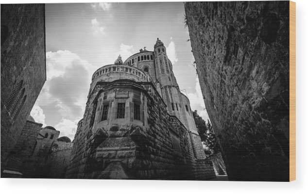 Abbey Wood Print featuring the photograph Mount Zion Abbey by David Morefield