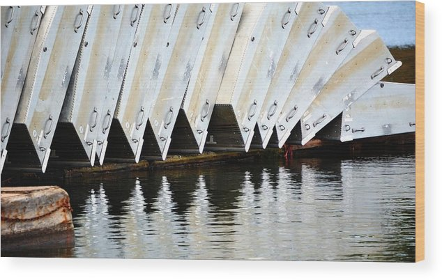 Season Wood Print featuring the photograph Ready For Fish 27269 by Jerry Sodorff