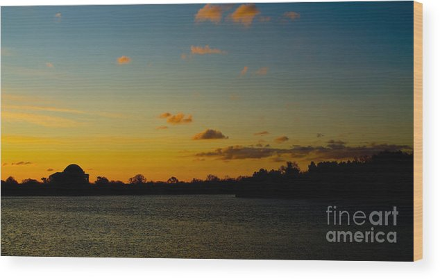 Sunrise Wood Print featuring the photograph Chilly Sunrise by Ursula Lawrence